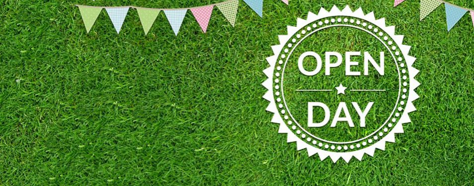 Open Day Saturday 6th July