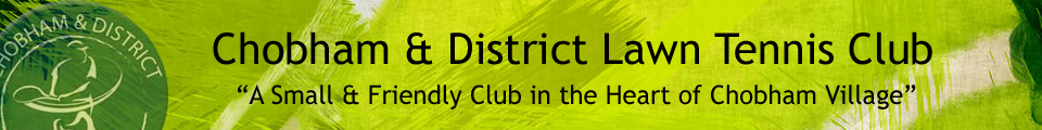 Chobham and District Lawn Tennis Club